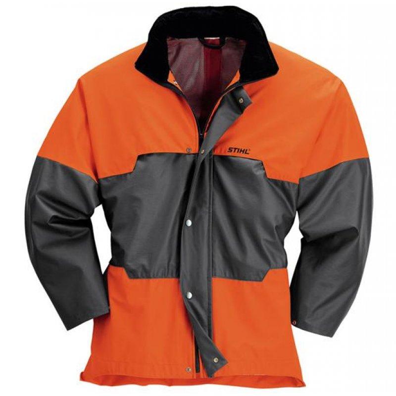 ADVANCE-Wetterschutz-Jacke anthrazit/orange S 46/48 Preisvergleich